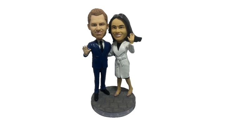 Welp, Meghan and Harry are Now Bobbleheads, and Were Not *Not* Paying $30 to Buy One