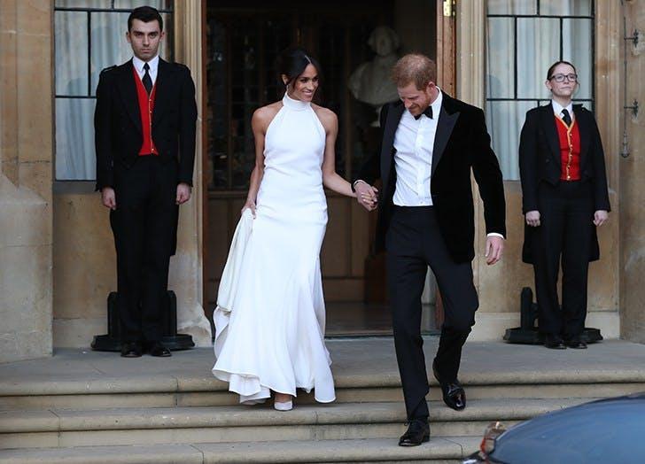 meghan markle second reception dress