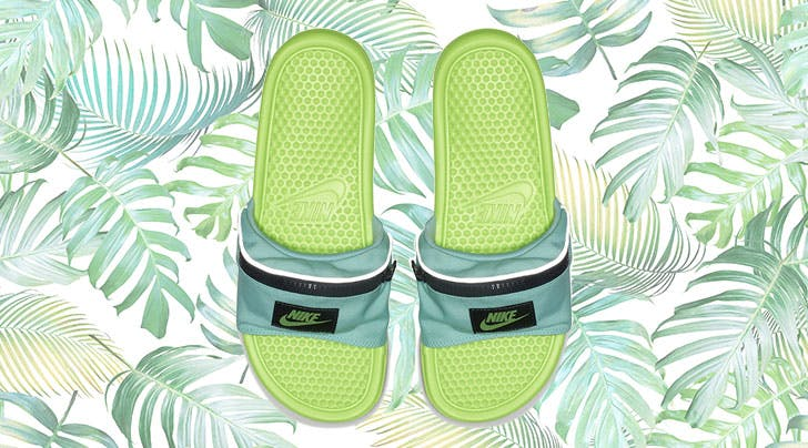 Nike's (Somewhat Confusingly) Popular Fanny Pack Slides Are Back, Baby