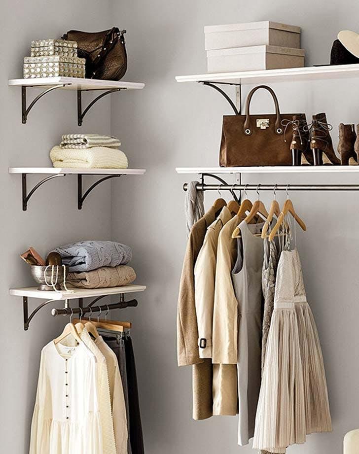 open closet trend