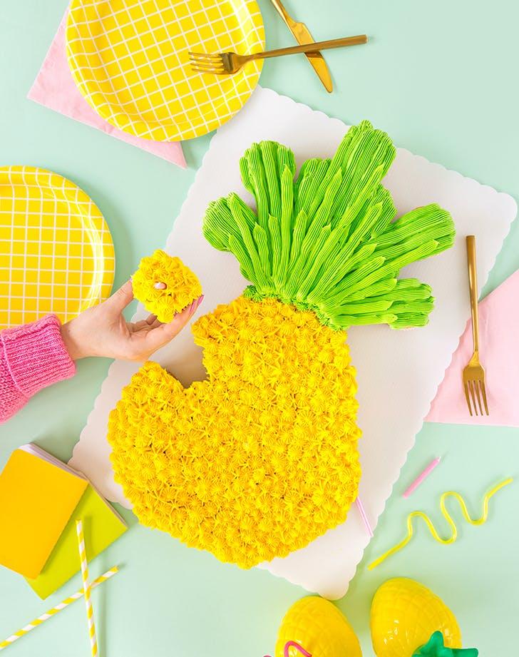 pineapple pull apart cupcakes recipe