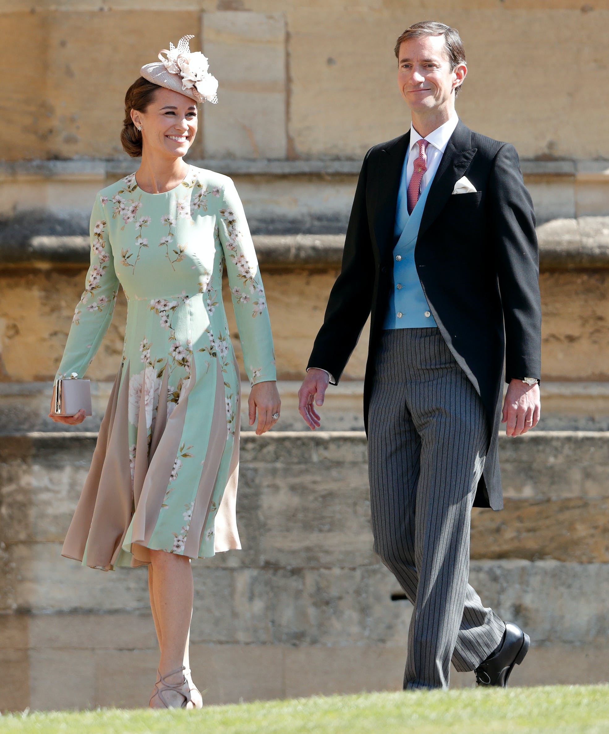 pippa middleton and her husband attend prince harry and meghan markles wedding