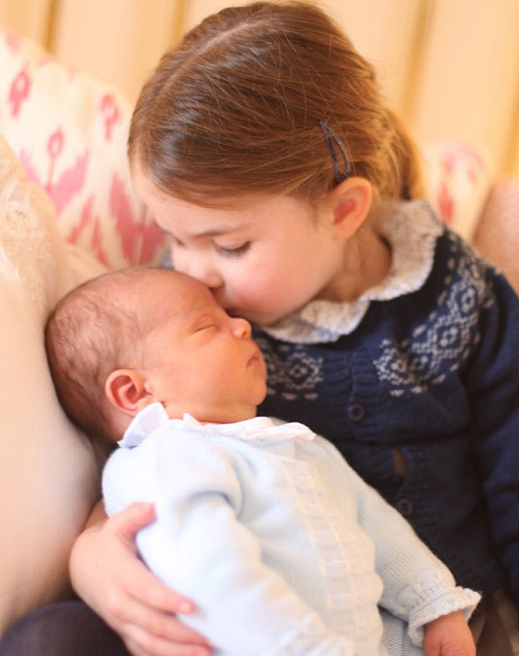 prince louis princess charlotte first official photo