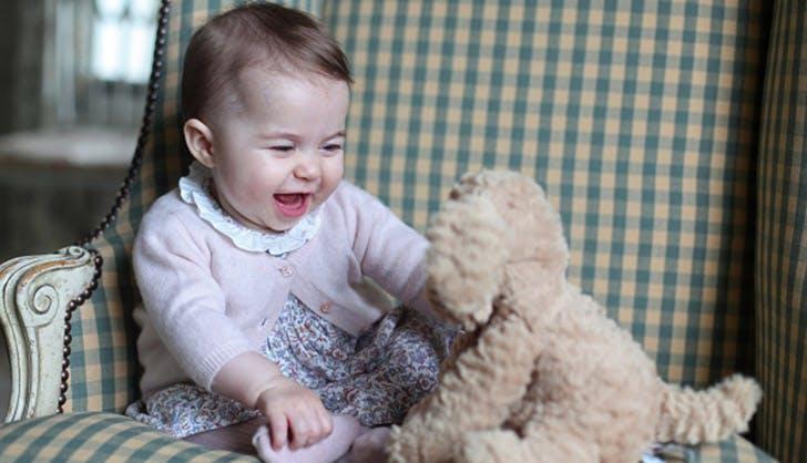princess charlotte stuffed puppy