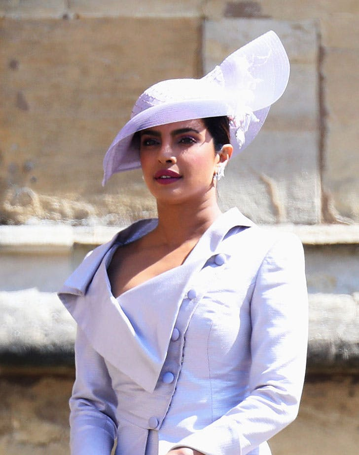 priyanka chopra fascinator royal wedding