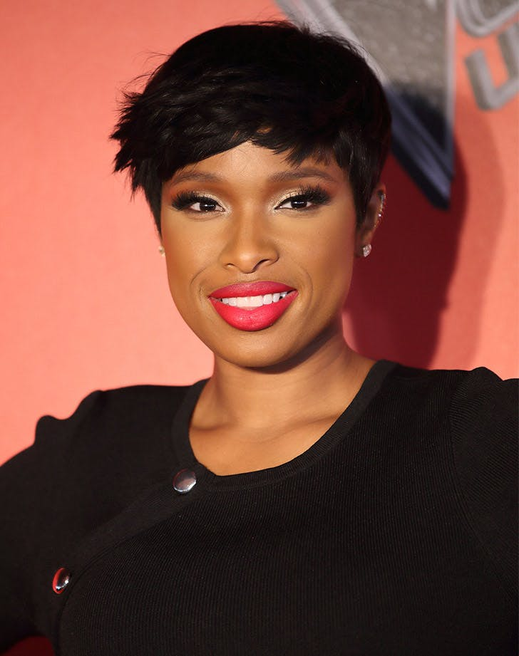 short hair with long bangs jennifer hudson1