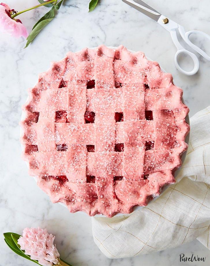 strawberry pie with strawberry crust recipe