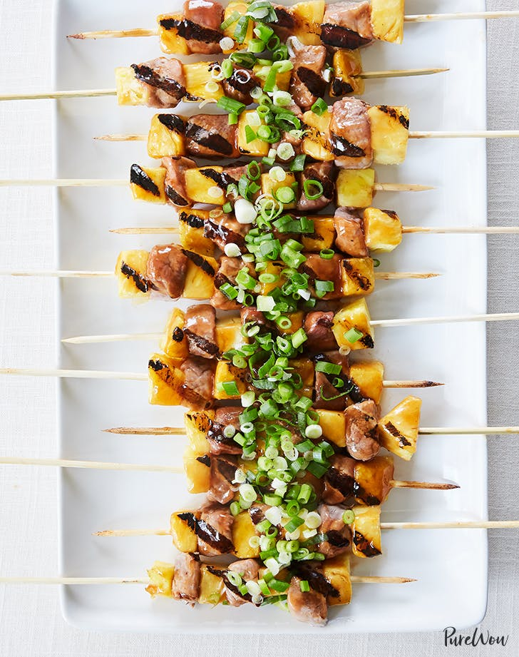 sweet and sour pork skewers with pineapple recipe1