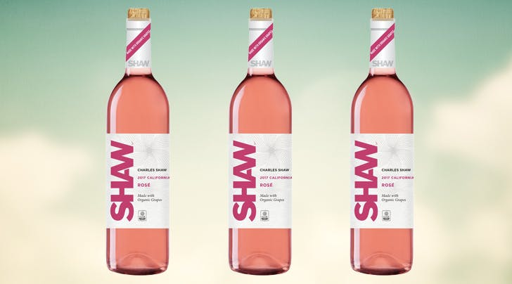 Trader Joe's New Organic Rosé Is Summer in a Bottle (and Its Only $4)