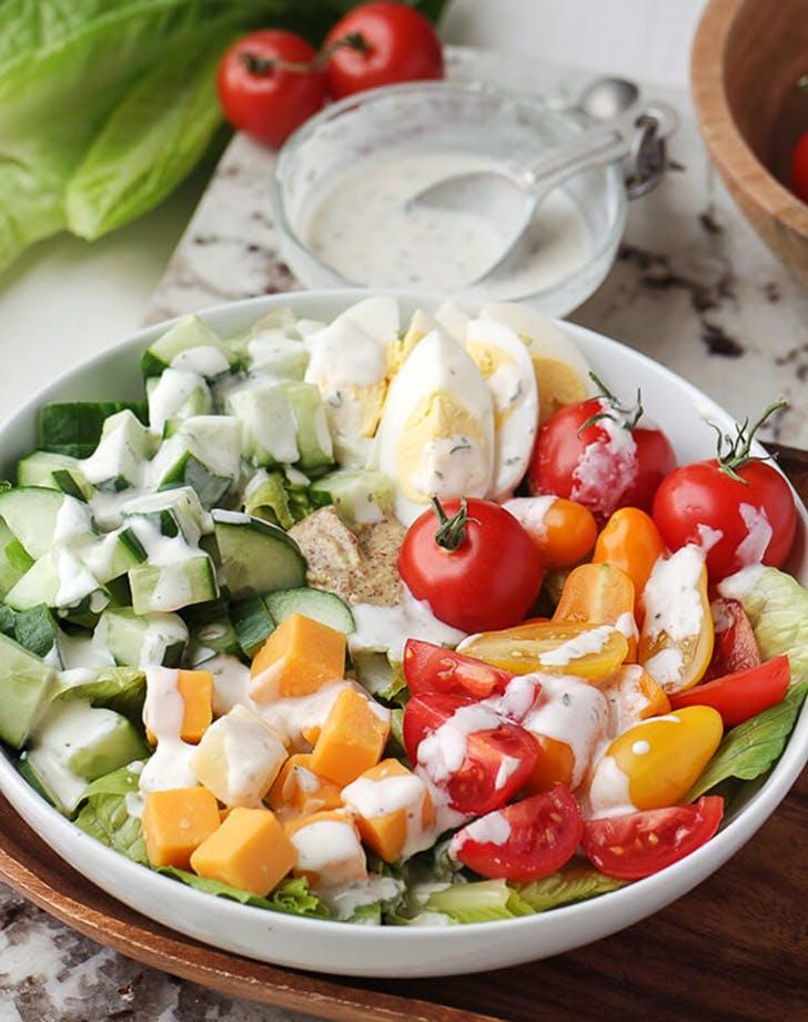 20 Easy, Filling Ketogenic Dinner Salads