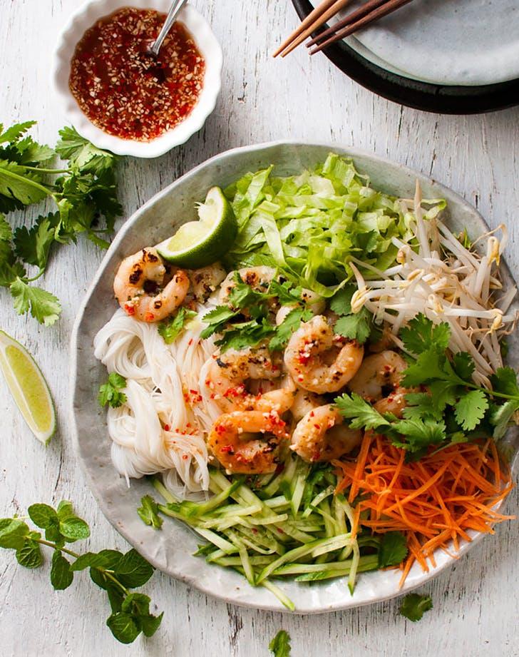 vietnamese noodle salad with shrimp recipe