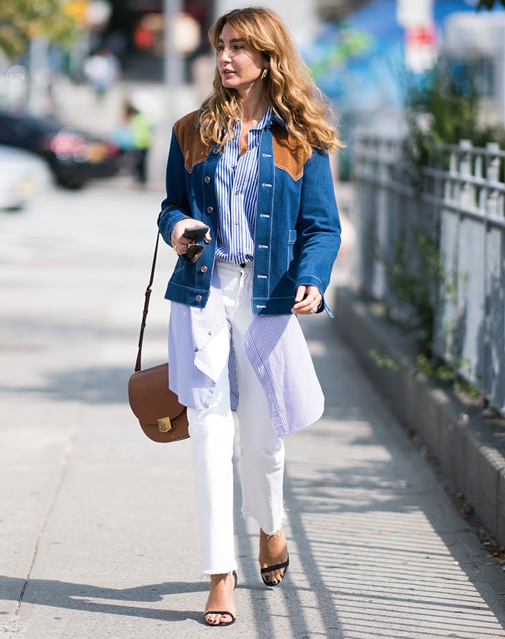 9c4df859a77 30 White Jean Outfits to Wear This Summer - PureWow