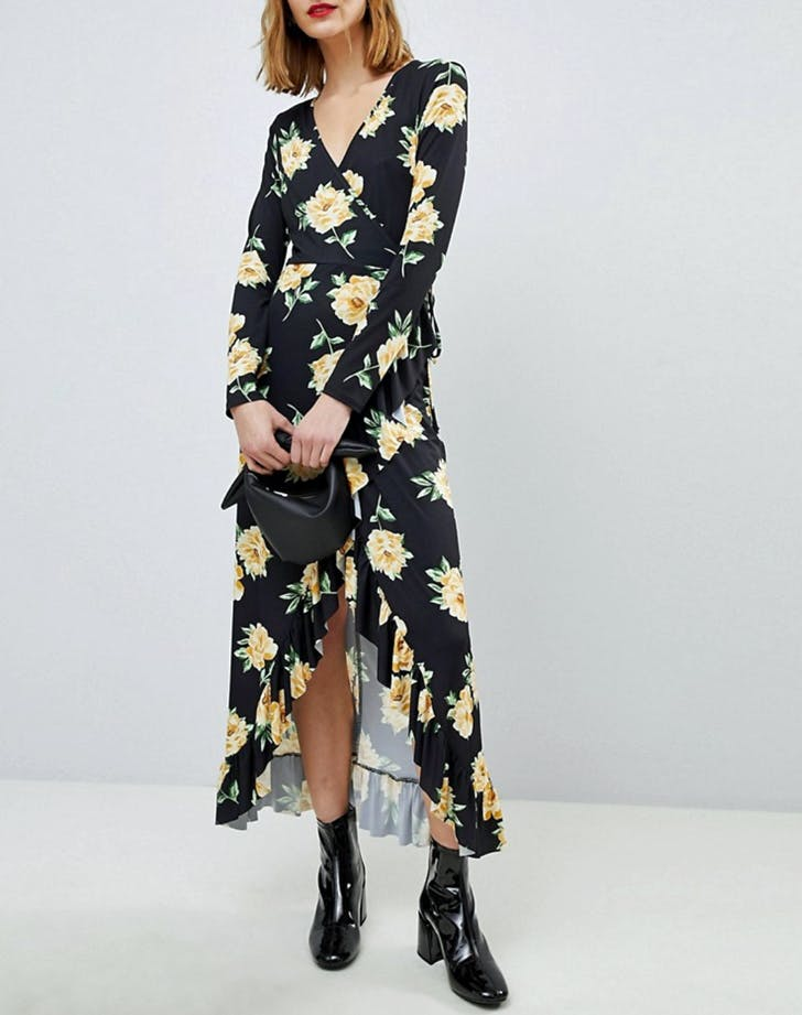 Asos flower dress