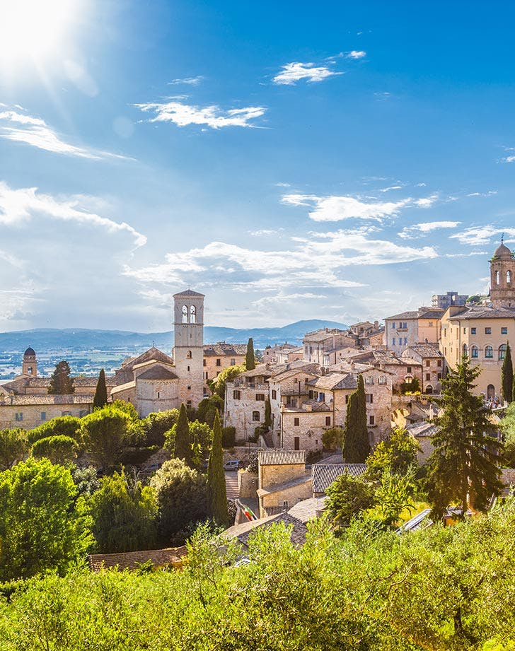 Assisi in Italy meditation retreat