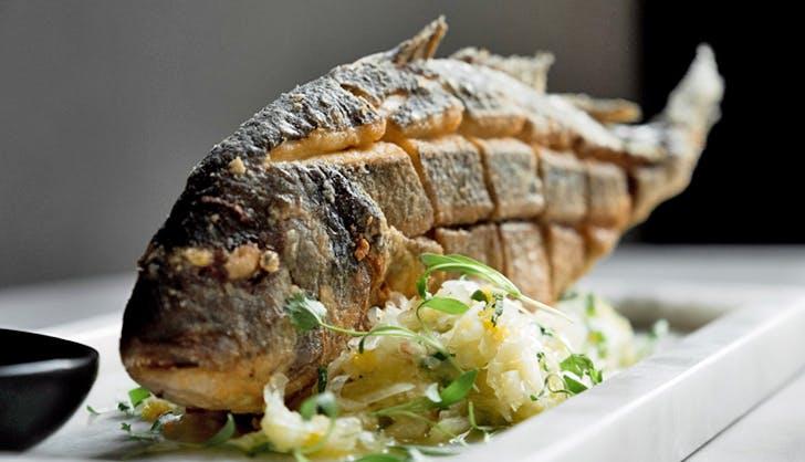 Bar Garcia Upright Fish