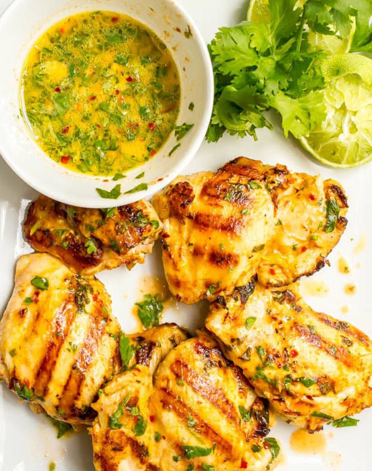 Coconut Lime Grilled Chicken Marinade recipe