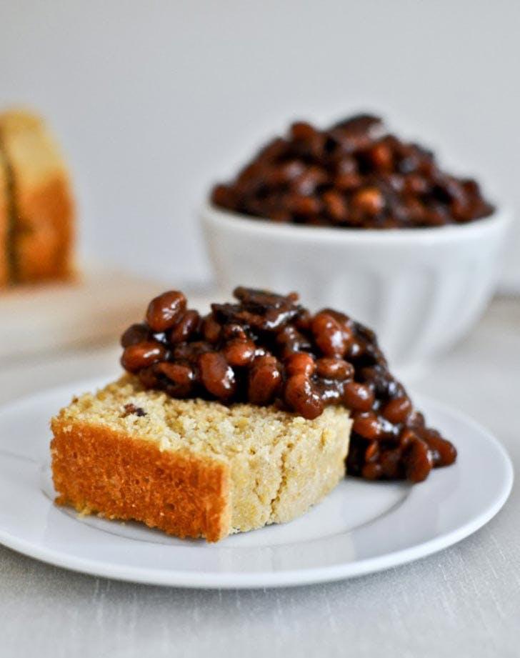 Crockpot Bacon Bourbon Baked Beans Side Dish Recipe