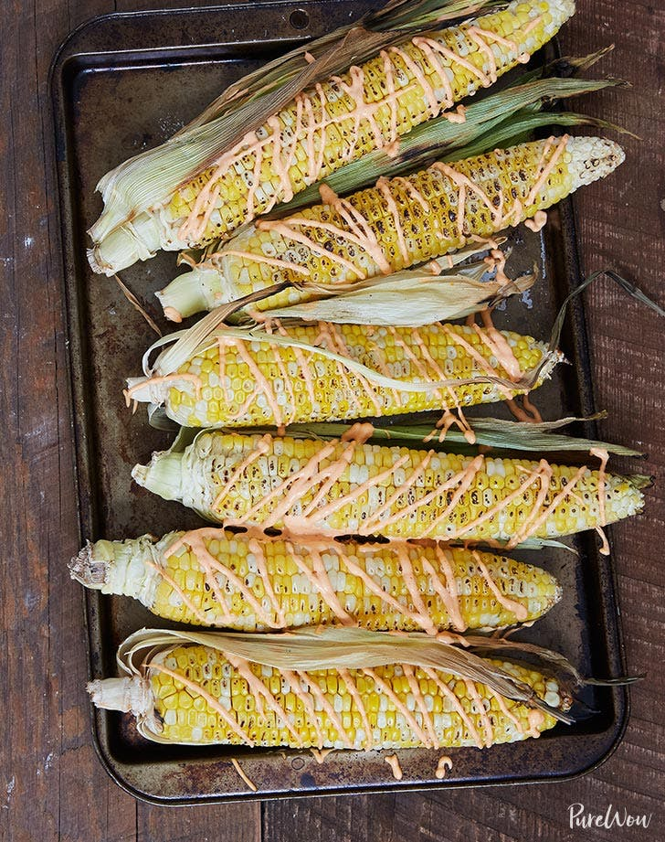 Grilled corn with spicy aioli july 4th side dish