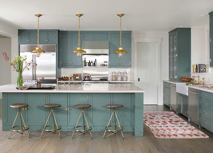 MWM green kitchen