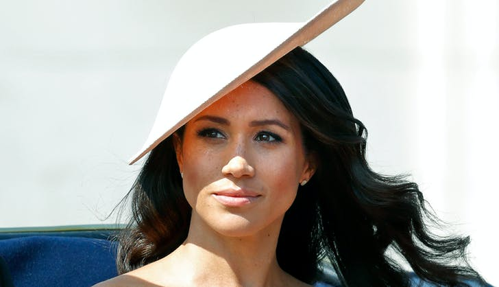 Meghan Markle at Trooping the Colour 20181