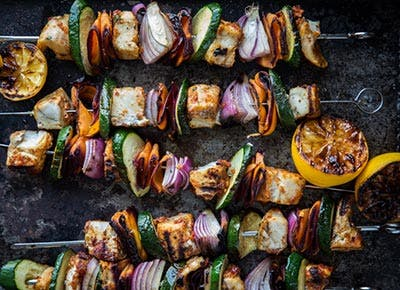 Moroccan Fish Skewers with Barramundi 400