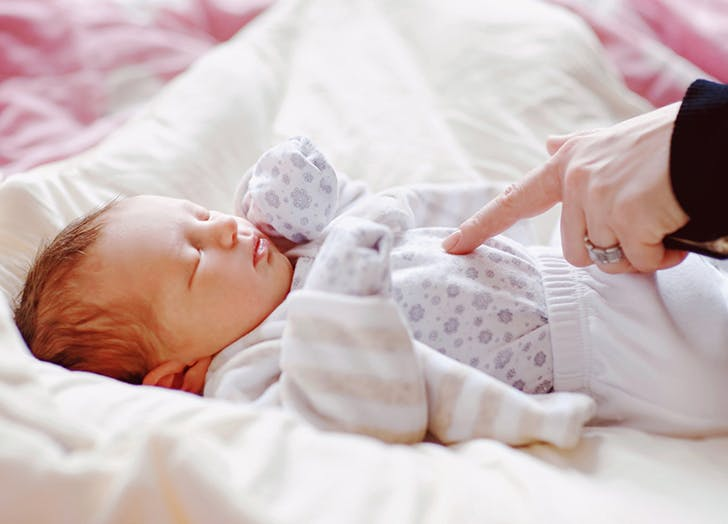 New Mom Etiquette Sleeping Baby