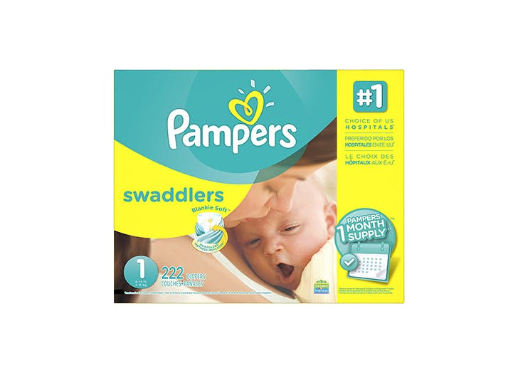 Pampers Newborn one month box