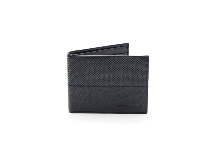 Perry Ellis leather cali wallet