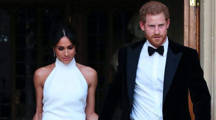 Prince Harry Reportedly Moonlights as Meghan Markle's Stylist