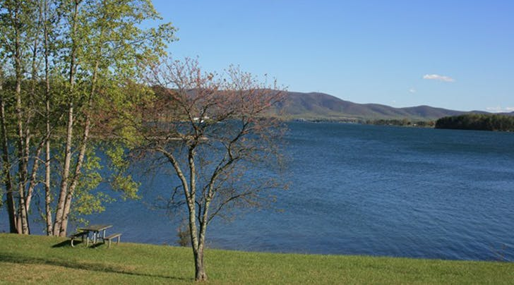 Smith Mountain Lake in virginia