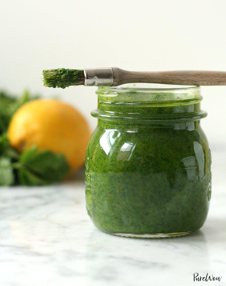 Spicy Lemon Herb Sauce recipe