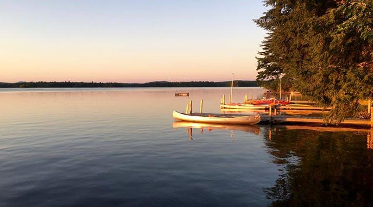 Squam Lake in nh