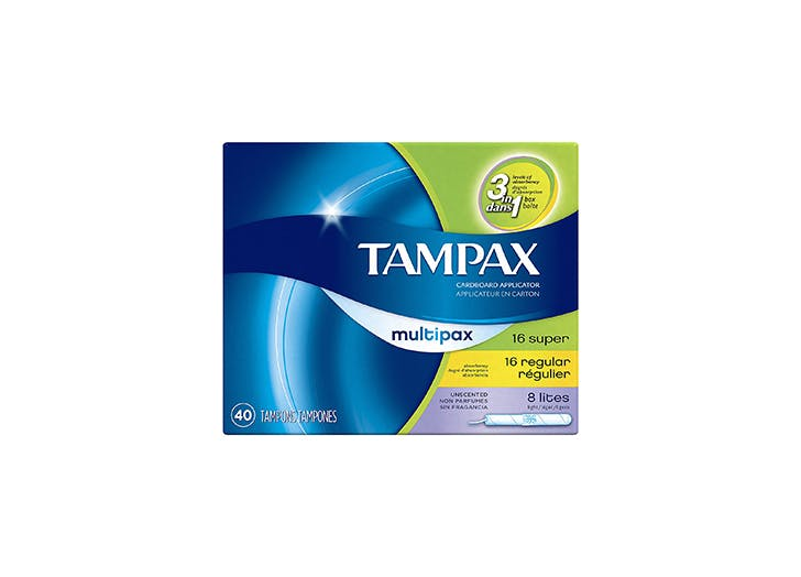 Tampax Multipax tampons