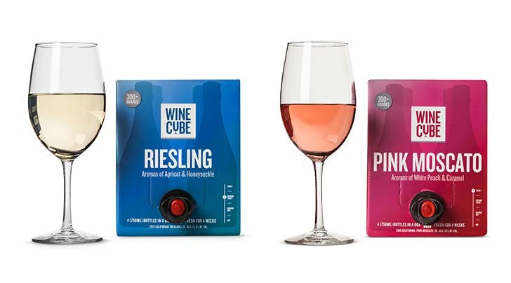 Targets Wine Cubes Are $18 and Hold 4 Bottles (So No, We Dont Care That Its Wine in a Box)