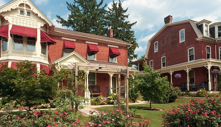 The Brickhouse Inn in Gettysburg  Pennsylvania