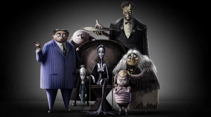 Heres Your First Peek at the New 'Addams Family Movie with Charlize Theron, Allison Janney, Nick Kroll and Bette Midler