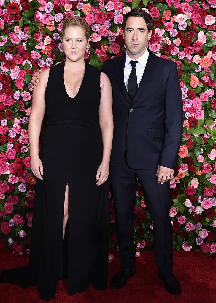 amy schumer chris fischer red carpet debut