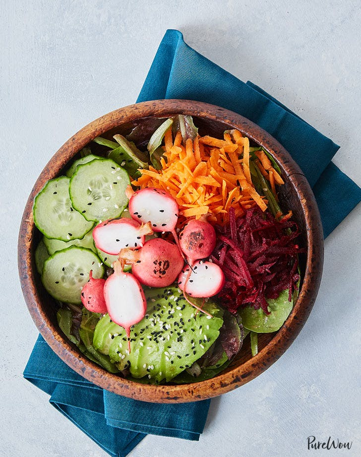 barbecue radish bowl recipe