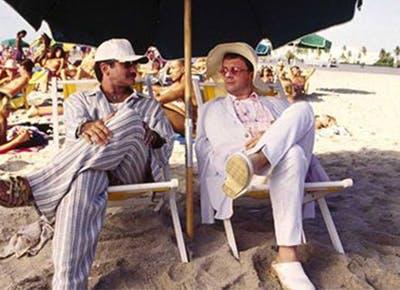 birdcage movie beach 400