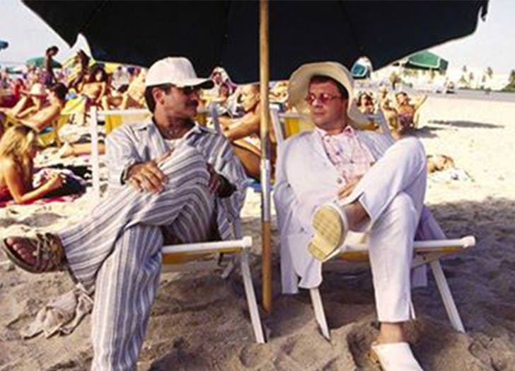 birdcage movie beach list