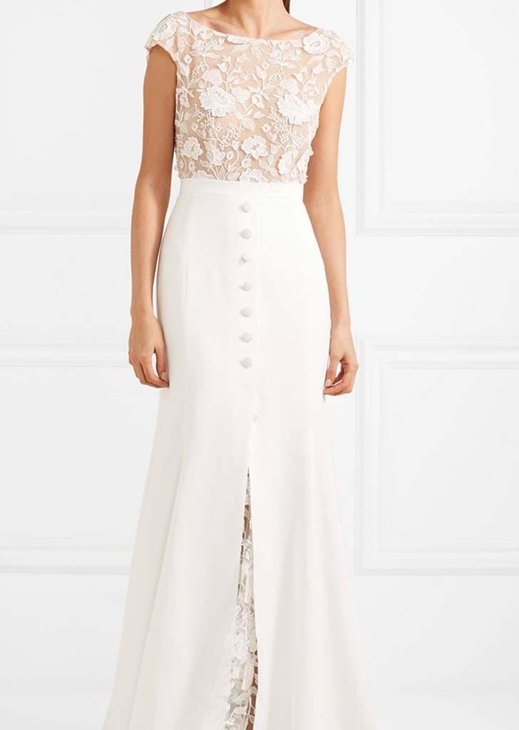 16 Boatneck Wedding Dresses - PureWow