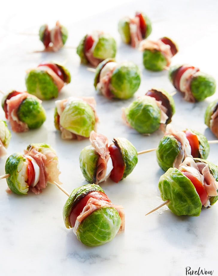 brussel sprout sliders toothpicks