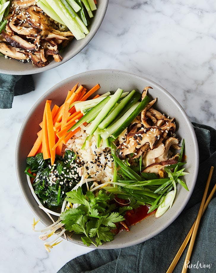 clean eating bibimbap recipe