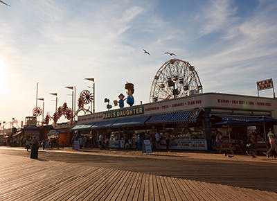 coney island boardwalk ferris wheel 400