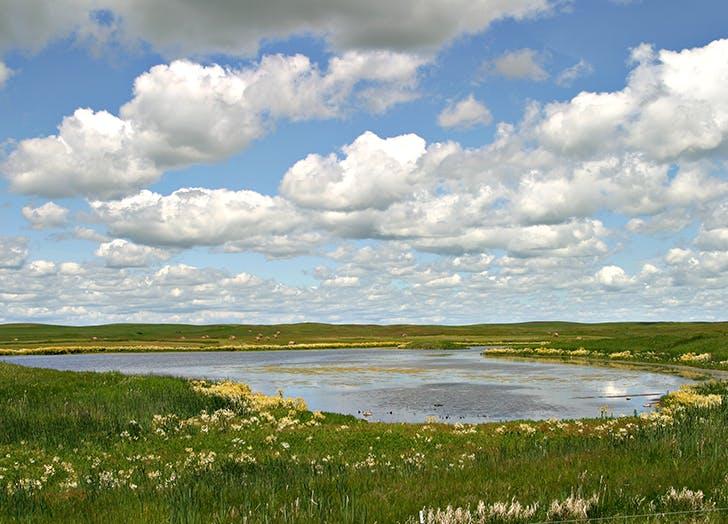 coteau du missouri in north dakota