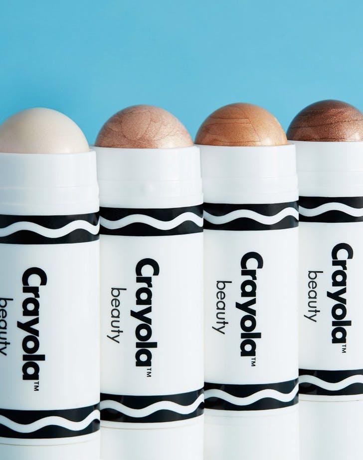 crayola beauty highlighters