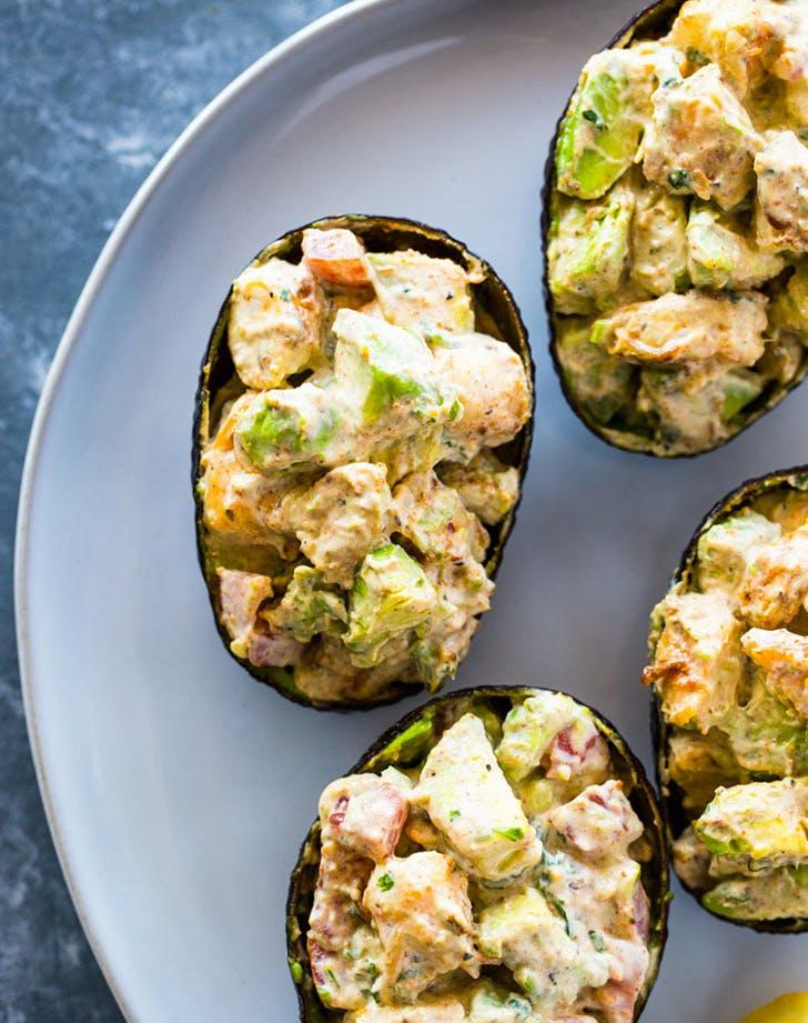 creamy shrimp stuffed avocado recipe