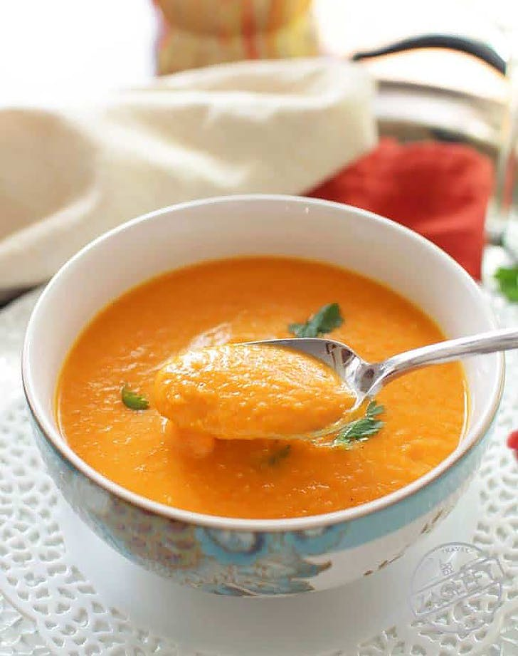 curried carrot soup for one recipe