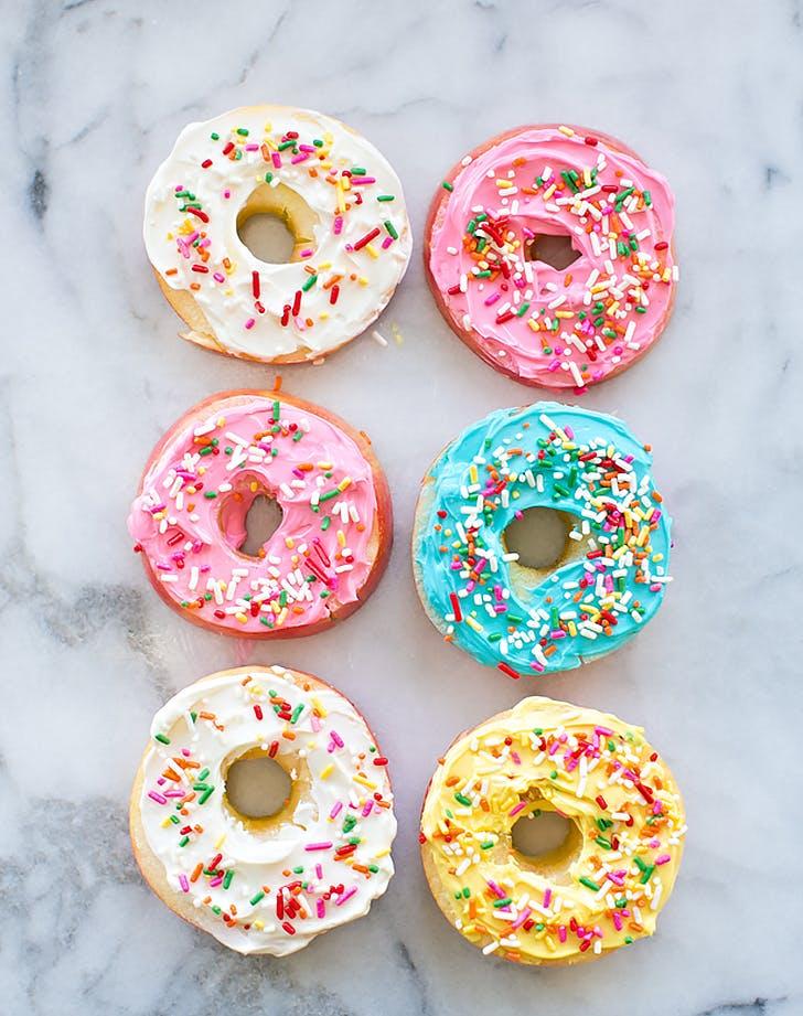 easy apple fruit doughnuts recipe