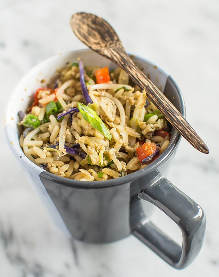 egg fried rice in a mug recipe